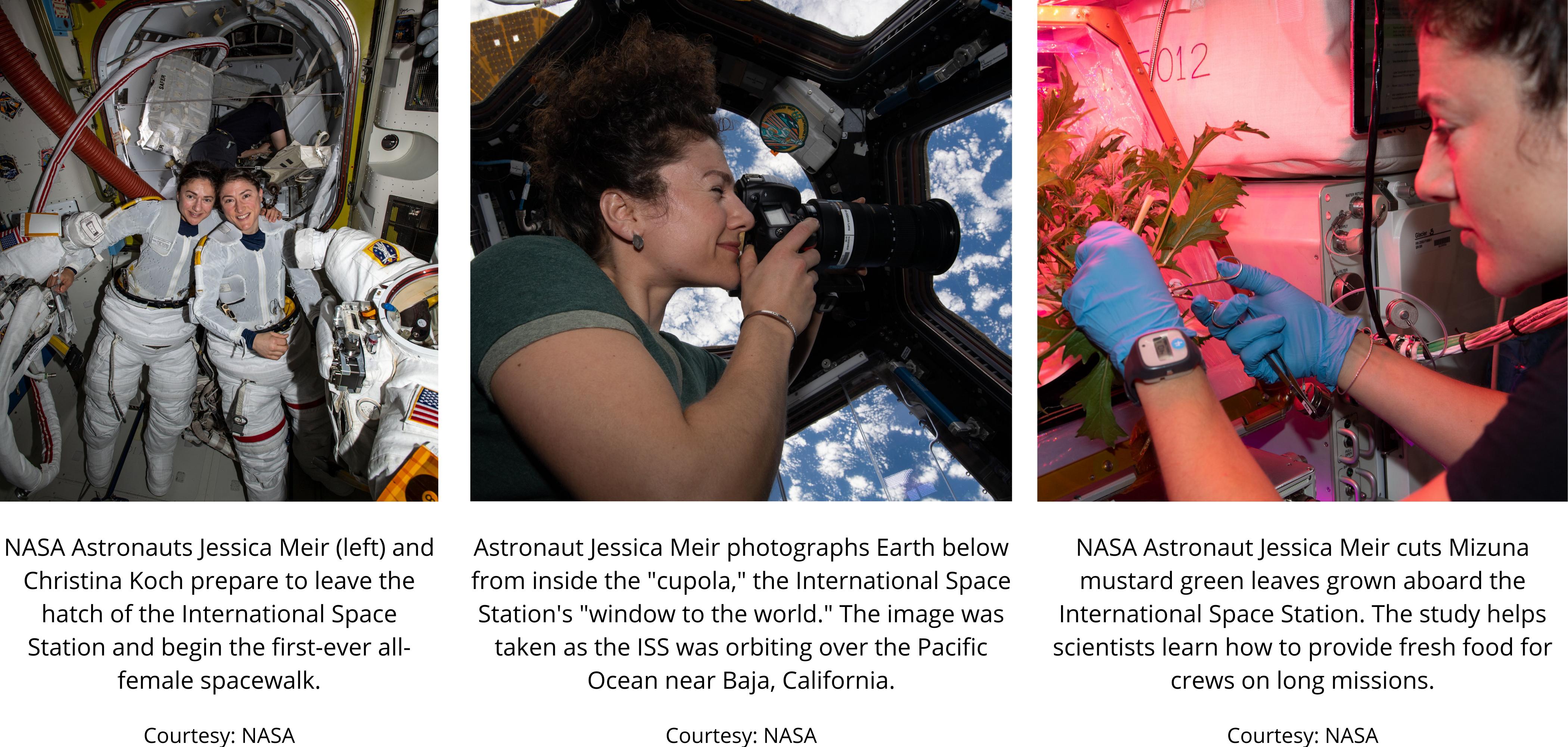 Astronaut Jessica Meir, ARCS Hall of Fame Member