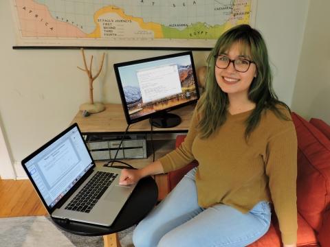 Lizzie Kumar, ARCS Foundation Scholar