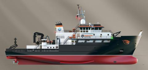 Oregon ship a 193-foot regional class research vessel